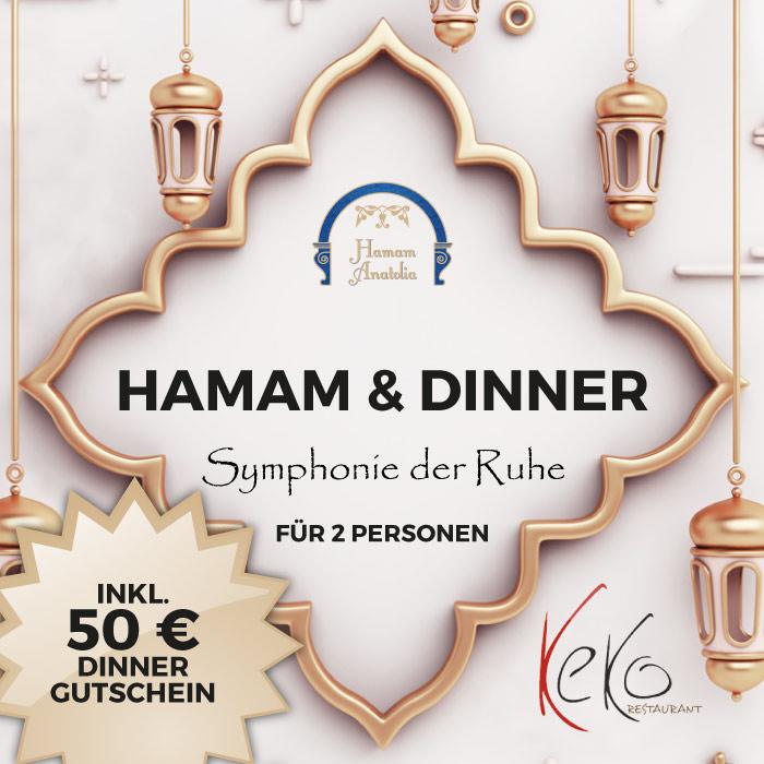 Hamam & Dinner Symphonie der Ruhe