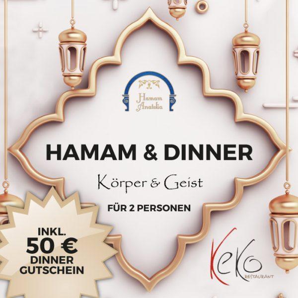 Hamam & Dinner Körper und Geist